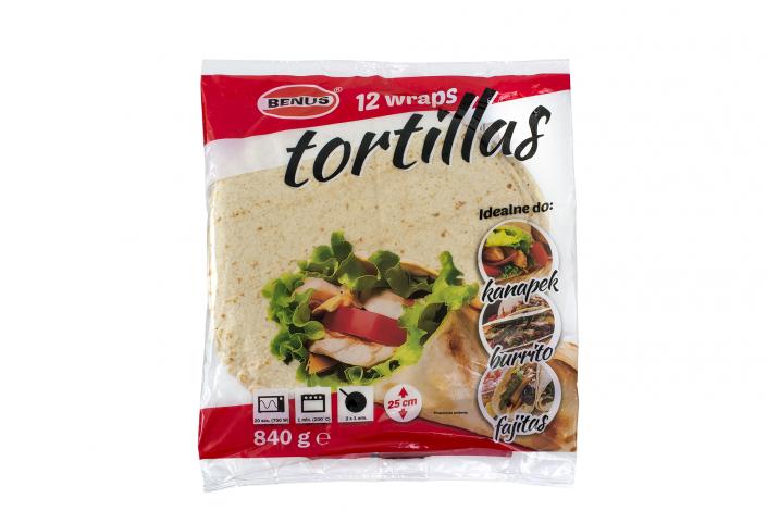 Tortilla 840g